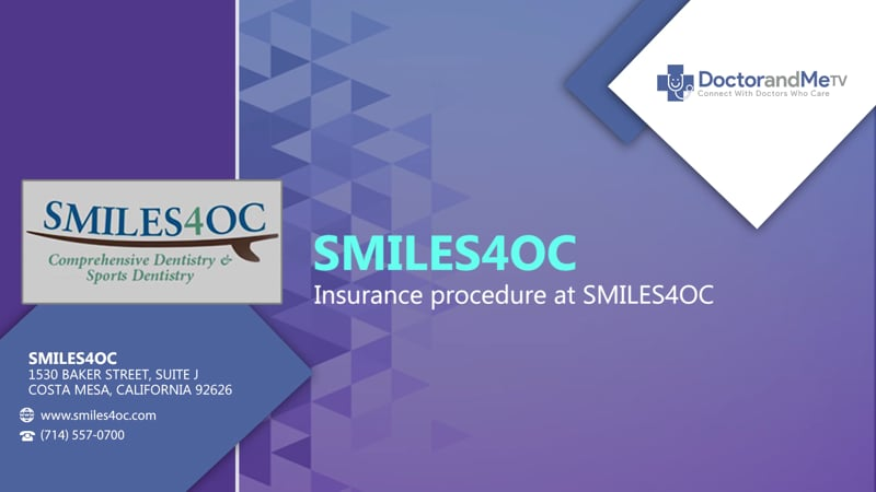 Insurance procedure at SMILES4OC